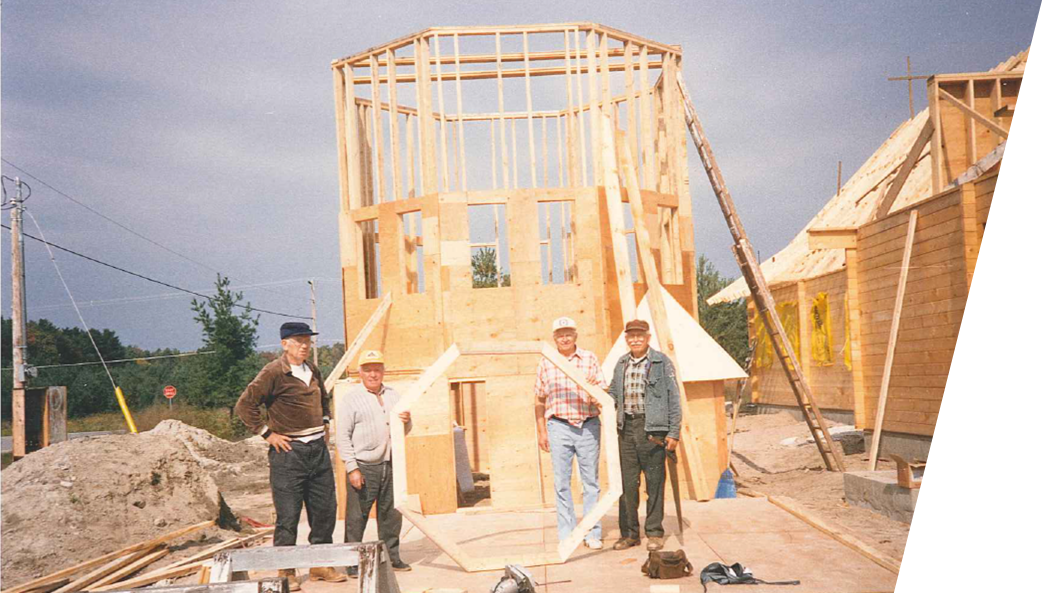 Builders of Sts. Volodymyr & Olha Ukrainian Catholic Church in Cawaja Beach